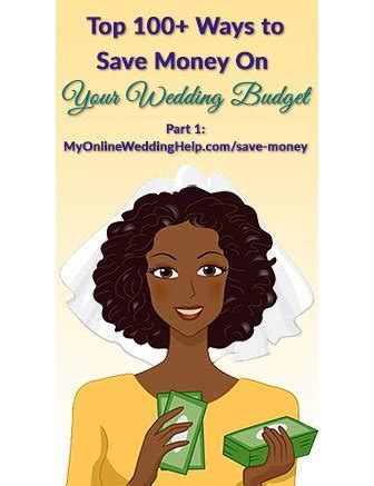 Top 100  Ways to Save Money on Your Wedding (Part 1)   My