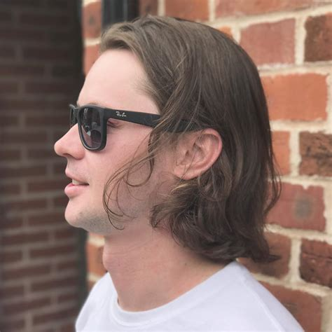 chin length hair male the best men s hairstyles for long hair to try in 2018