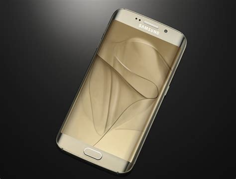 Samsung S6 Edge Gold gold samsung galaxy s6 edge the android soul