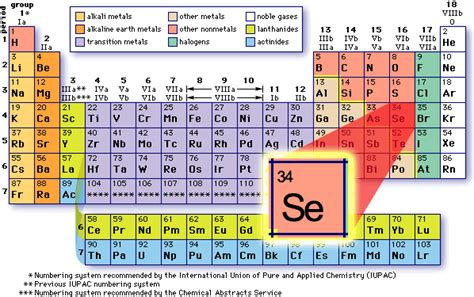 Selenium Periodic Table by Selenium An Essential Trace Mineral