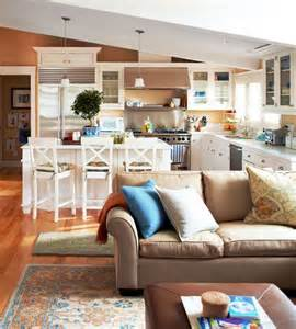 Kitchen Living Room Space Kitchen Living Layout And Living Rooms On
