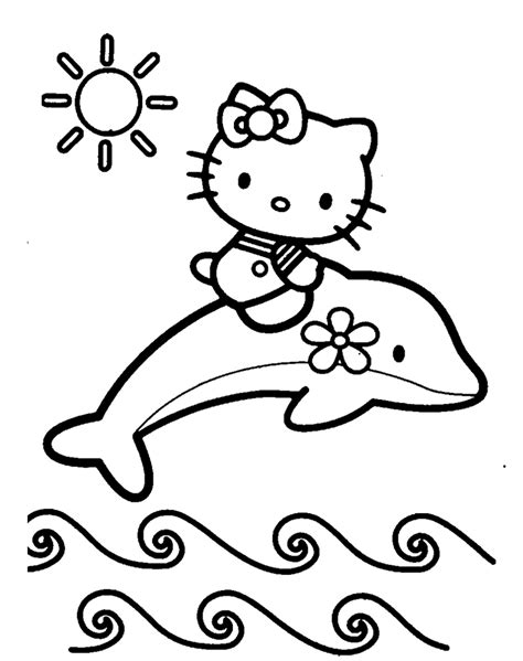 Coloring Page Dolphin by Dolphin Coloring Pages And Print For Free