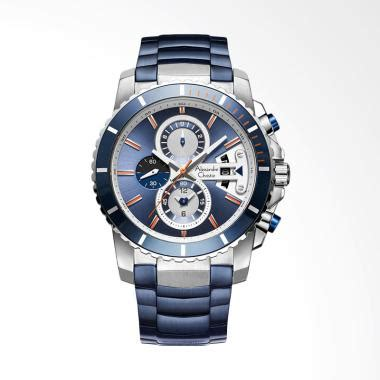 Jam Tangan Pria Alexandre Christie Ac6142mc Chronograph Silver Black jual alexandre christie blue chronograph blue jam tangan pria blue silver acf 6455