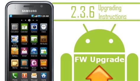 how to upgrade samsung galaxy s vibrant to android 22 how to update the samsung galaxy s to android 2 3 6 build