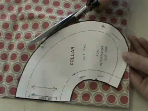 Sewing Technique: Collar   YouTube