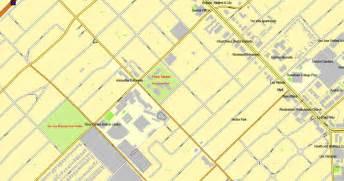 san jose california us printable vector map city