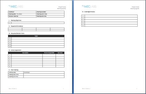 ms word meeting minutes template software 7 0 free download