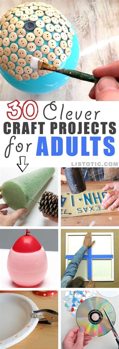 25 Innovative Craft Ideas For Adults Bizwhiznetwork