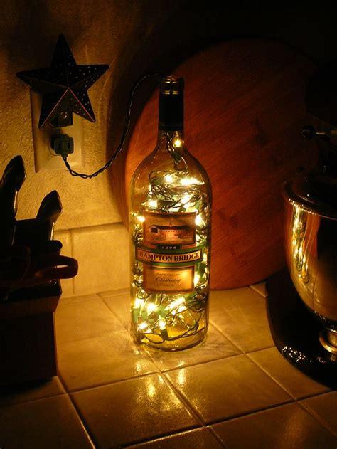 bottles for kitchen lighted wine bottle for kitchen decor home kitchen dinning room de