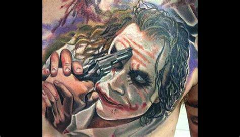 imagenes de joker tatuajes batman 15 tatuajes inspirados en el joker el villano
