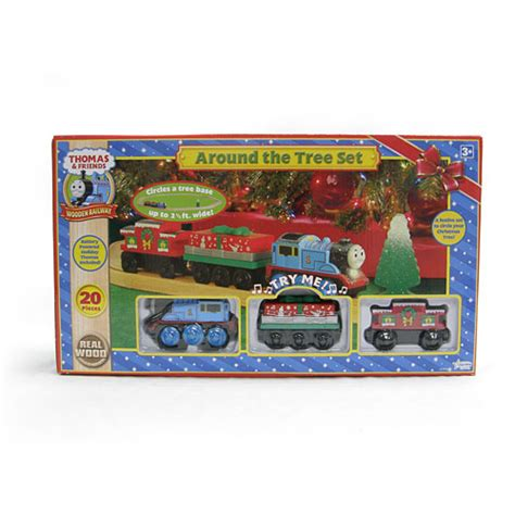 around the tree set with battery powered thomas set