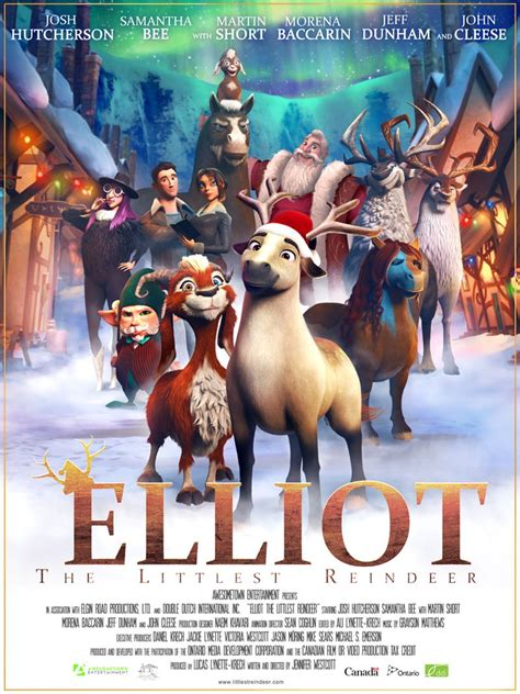 se filmer elliot the littlest reindeer hollywood spy animated movie weekend first photos from