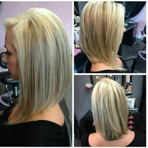 long front angled hair styles inverted long bob hair style color pinterest