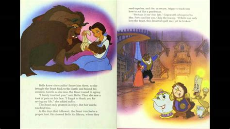 and the beast book report and the beast disney story book