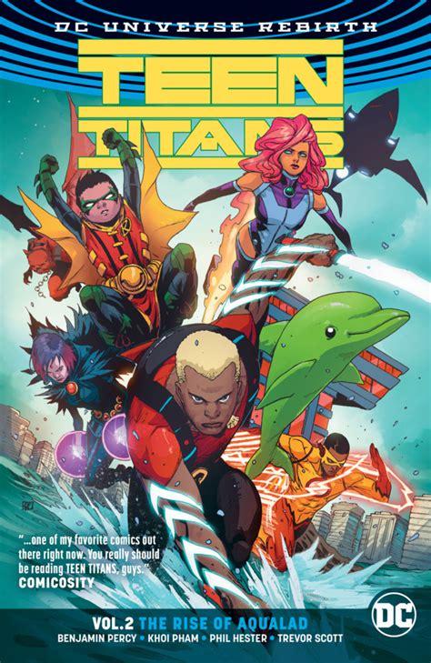 titans 2016 vol 2 teen titans the rise of aqualad 1 volume 2 issue