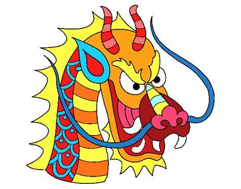 testa di drago disegno testa di drago colorato da utente non registrato