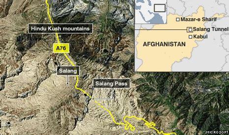 bbc news salang tunnel afghanistan's lifeline