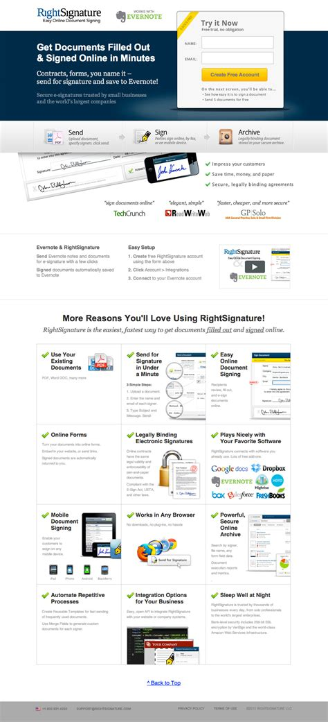 beautiful layout exles 26 beautiful landing page designs with a b testing tips