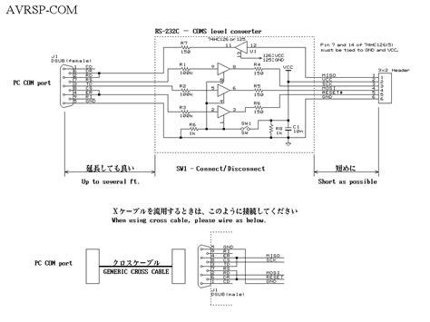 usb to serial wiring diagram avr isp programmer diy crafts