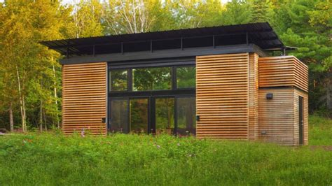 small eco home small prefab green home with