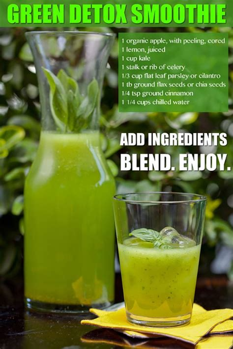 Cilantro Detox Drink by Cleanse Detox Smoothie Recipe Celery Cilantro And