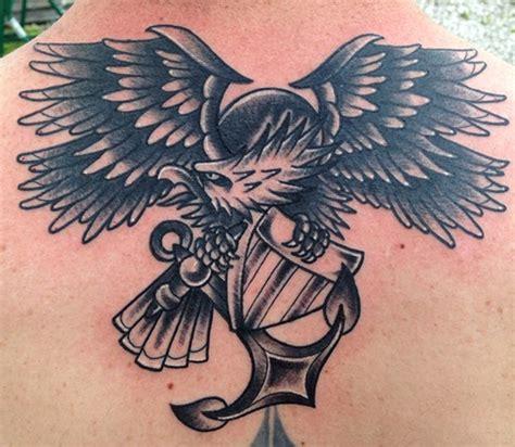 eagle tattoo navy trinity tattoo company black and grey navy eagle