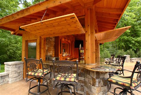 Cabana Ideas by Pool Bar Rustic Patio Other Metro By Westwind