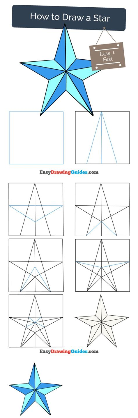 typography tutorial step by step draw pattern learn how to draw a star easy step by step