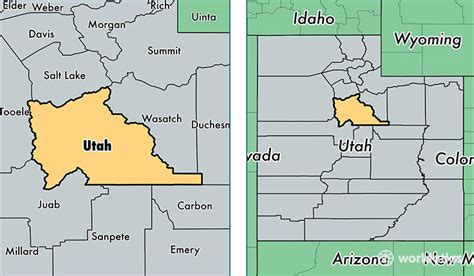map world orem utah county utah map of utah county ut where is utah