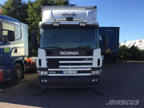 used scania 94d box trucks year 2004 price 7 995 for