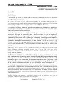 Cover Letter Spontaneous Application spontaneous application diego fdez sevilla cover letter