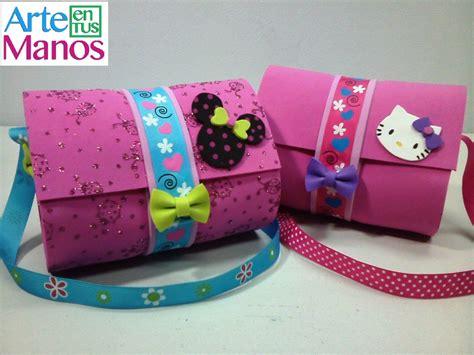 proyecto de fomix el arte en las manos con fomix bolsos para ni 241 as en foami o goma eva bags girl in foam