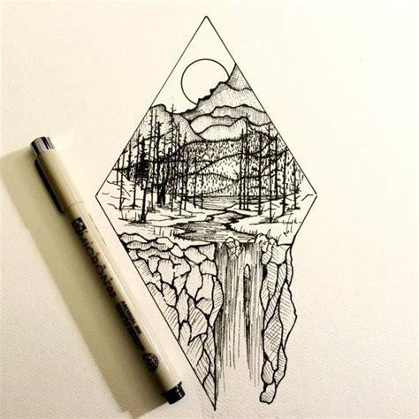 tattoo sketch pen attēlu rezultāti vaicājumam simple fineliner drawings