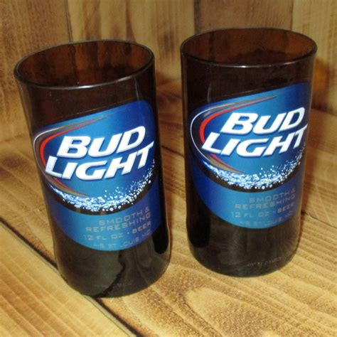 where is bud light made bud light 8 ounce glasses made from upcycled beer bottles