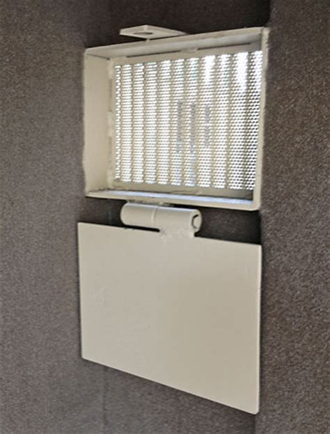 Safe Room Ventilation System by Armory Vault Door Air Vent For Safe Room