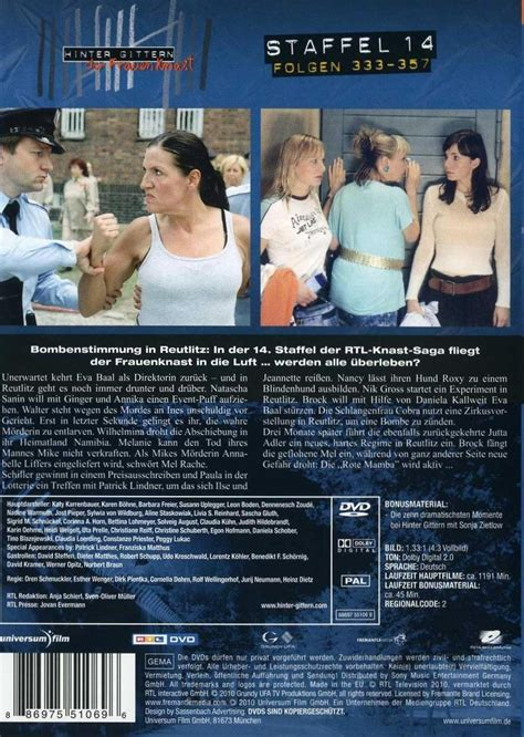 hinter gittern dvd hinter gittern der frauenknast staffel 14 dvd oder