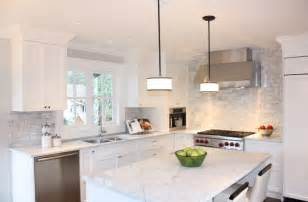 Carrara Marble Subway Tile Kitchen Backsplash Trade Secrets Kitchen Renovations Part Two Countertops