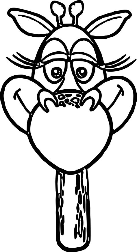 giraffe face coloring pages giraffe face coloring coloring pages