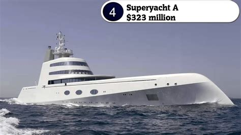 most expensive fishing boat top 10 most expensive yachts in the world youtube