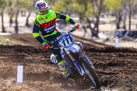 who won the motocross race ferris clinches moto win in mx nats return bike review