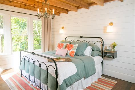 chip and joanna shiplap fixer upper makeover a style packed small space hgtv s