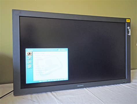 Monitor Lcd Tv sony 40 quot commercial lcd tv display monitor 1366 768 720p black fwd 40lx2f mdg sales llc