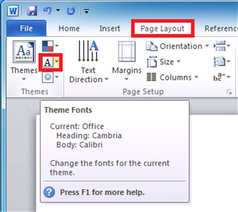 Themes In Microsoft | themes in microsoft word 2010 microsoft office support