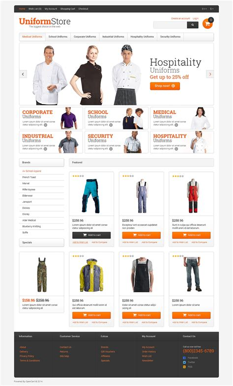 opencart templates responsive store responsive opencart template 49328 by