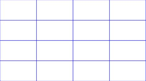 7 day grid calendar printable calendar template 2016