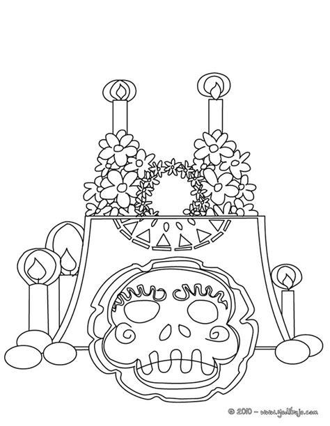 dibujos para colorear calaveras de dia de muertos calaveras del d 237 a de muertos para pintar colorear im 225 genes