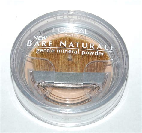 Loreal Bare Naturale Powdered Mineral Foundation by L Oreal Bare Naturale Gentle Mineral Pressed Powder Makeup