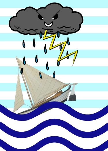 cartoon boat in storm boat caught in a cartoon storm by zombie priest on deviantart