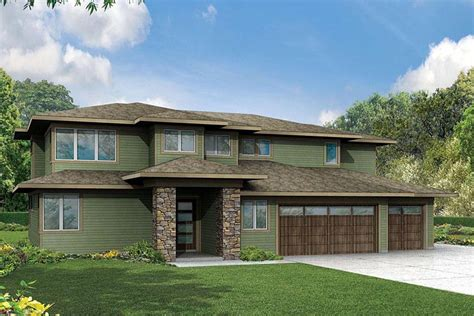 contemporary craftsman house plans contemporary craftsman house plan 60944