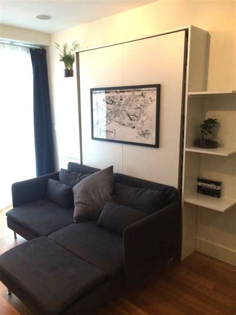Schlafzimmer Ideen Wand 2186 by Die Besten 25 Murphy Bed Ideen Auf